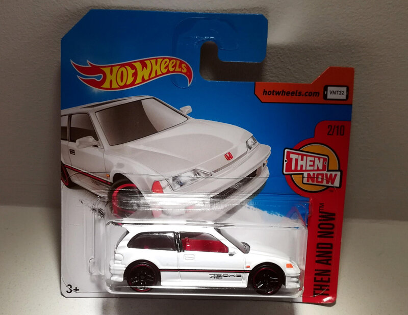 Honda civic EF de 1990 (Hotwheels 2017)