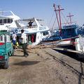 Le port au matin