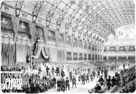 Palais de l'industrie : distribution des récompenses (Exposition universelle de 1855)