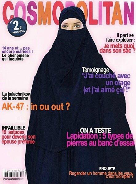 islam burka humour terroriste