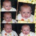 5 Portraits pour tes 5 mois