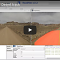 Nexyad adas : road detection on a desert sand track with roadnex v2.2