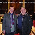 Jean Claude Latreille Cpte 3° Cie en 1971-72 et Jacques Cuvelier 71/06 - Retrouvailles en Février 2012
