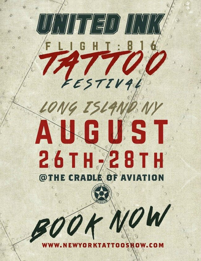 United Ink Flight 816 26 - 28 Août 2016
