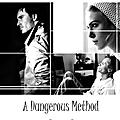 [créa] a dangerous method - fan made poster