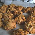Cookies chorizo, tomates sechees, fromage