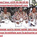 Meilleure marabout femme africaine reconnue en france: divinité des adeptes de mami wata