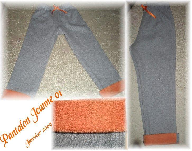 Pantalon Jeanne 01-2009