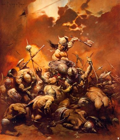 FrankFrazetta_Conan_the_Destroyer_1971