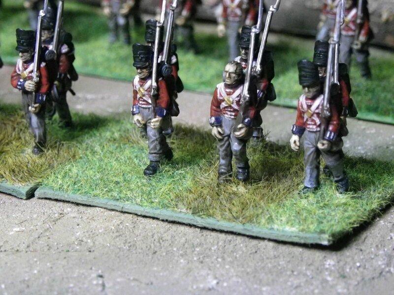 Soldats napoléoniens anglais