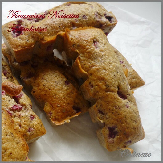 financiers framboises noisettes 01