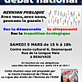 Attacoise soutient : grand débat