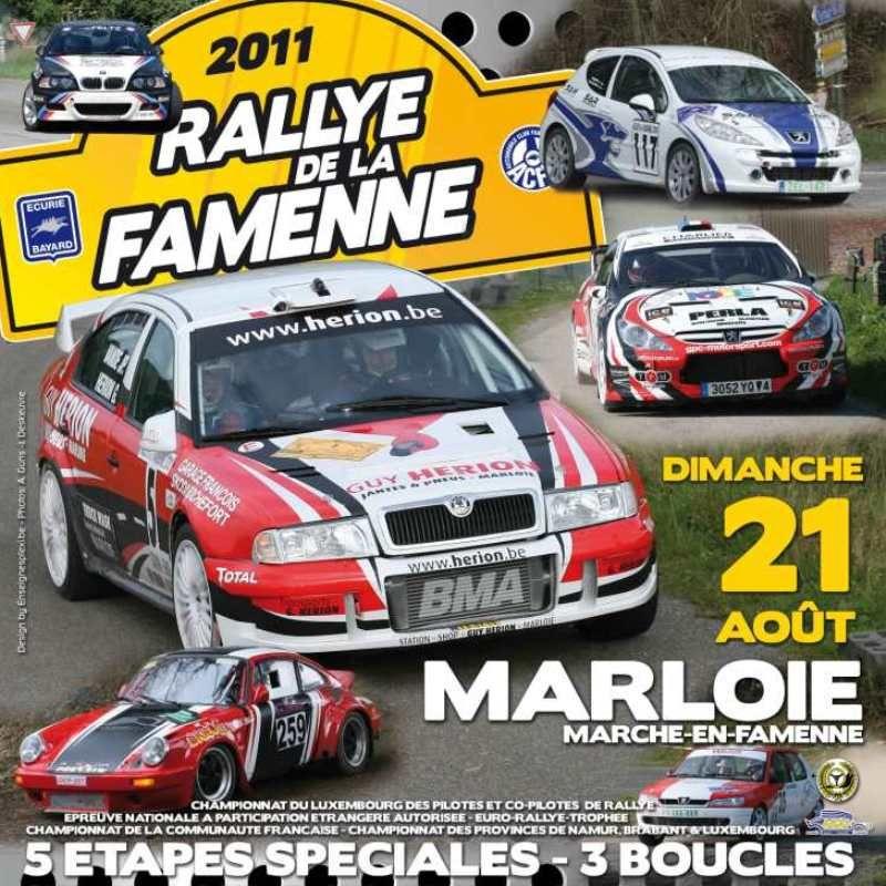 Rallye de la Famenne 2011 1