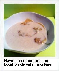ravioles foie gras