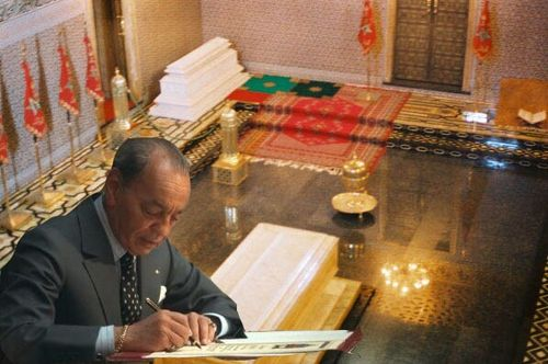 صور ملكية خاصة بموقع المغرب الملكي