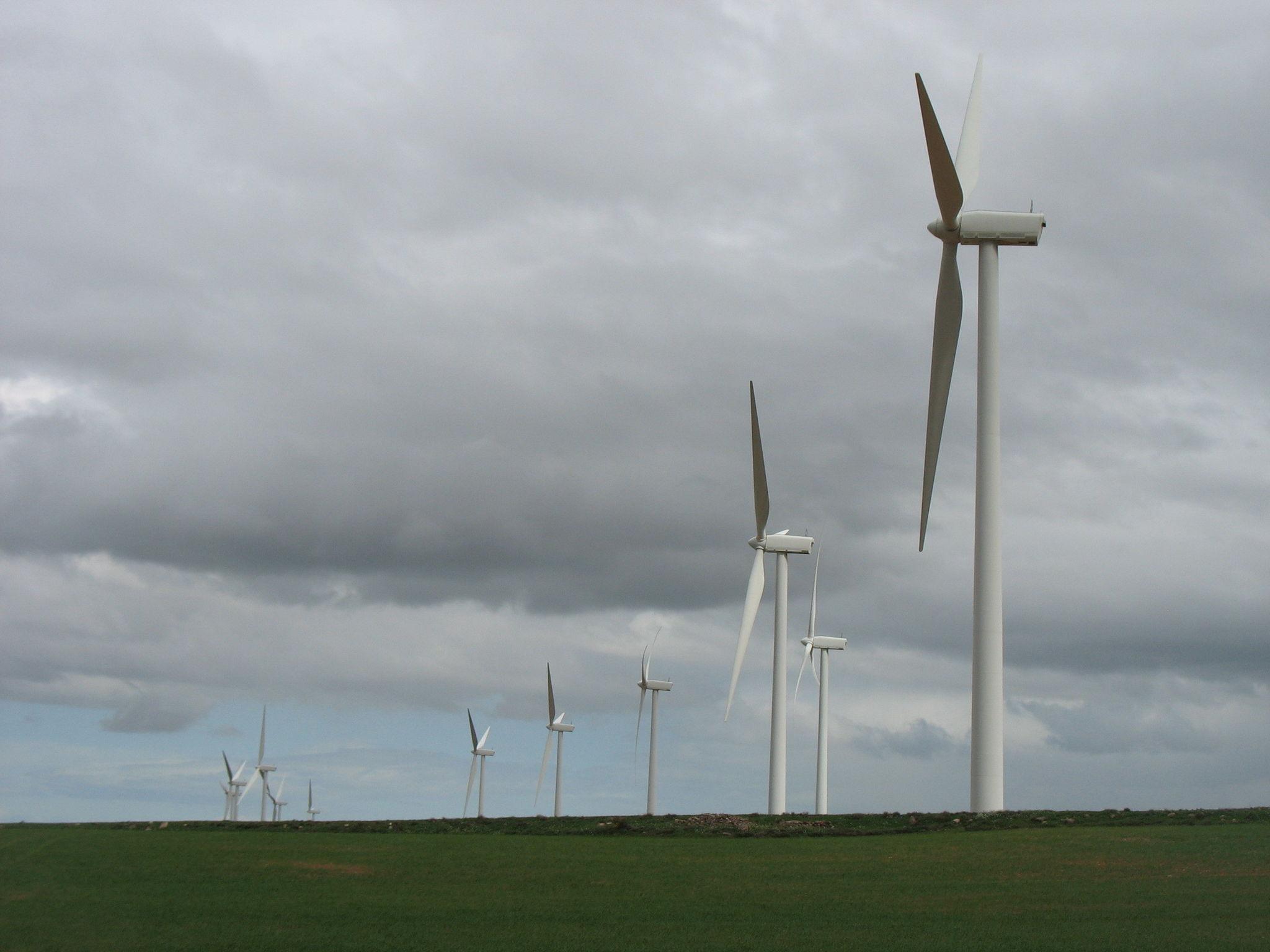 Aragon et éoliennes (Espagne)