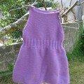Petite robe pour petite fille