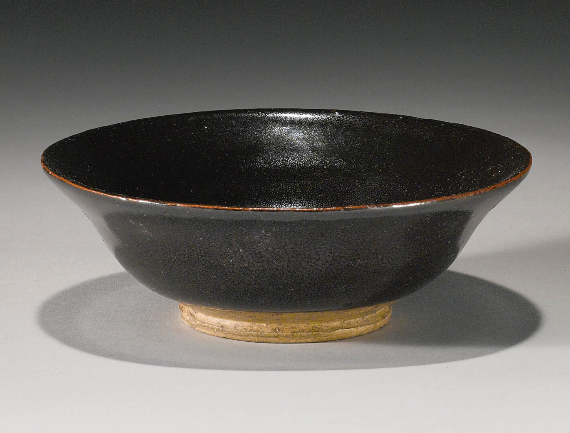 A black-glazed 'oil-spot' bowl, Jin-Yuan Dynasty (1115-1368)