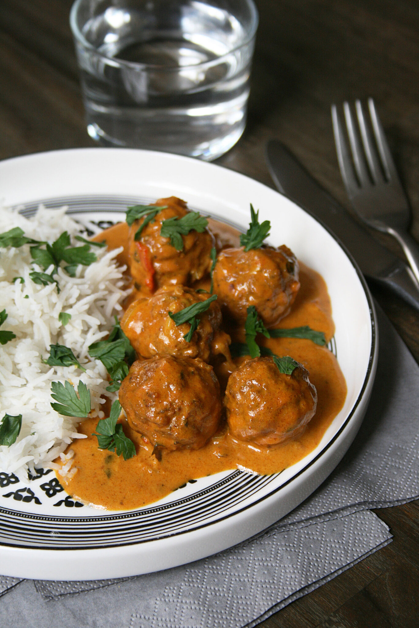 Curry de boulettes de Kefta