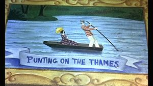 Mary Poppins - Punting on the Thames