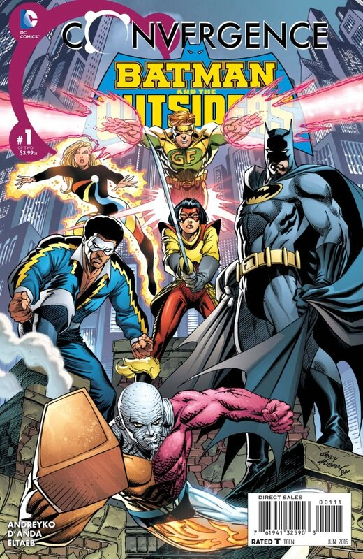convergence batman and the outsiders 1