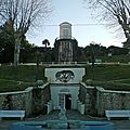 Accés au Parc Mauresque, ville d'hiver d'Arcachon