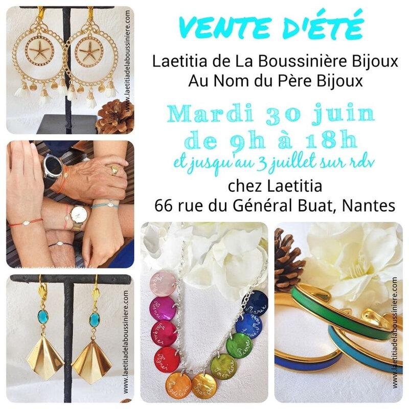 Invitation pour la vente du 30 juin à Nantes