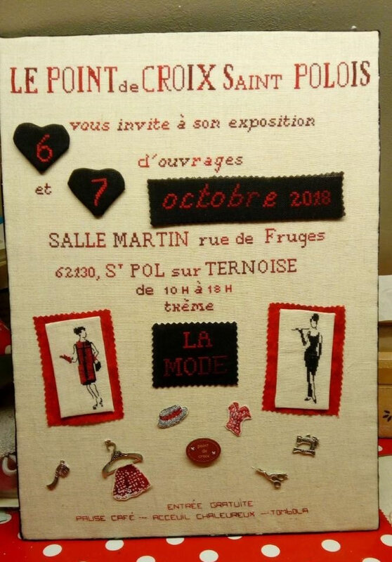 affiche expo Marie