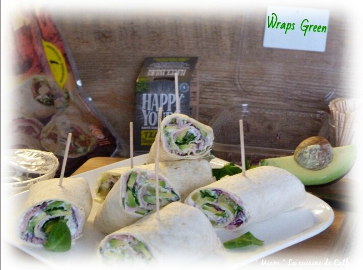 "ღ "" Miam "" Wrap'S Green"