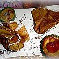 Crêpes et mini-crêpes fourrées