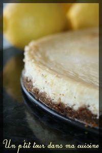 Cheesecake citron spec