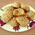Cookies de potimarron épicé au chocolat blanc et sésame