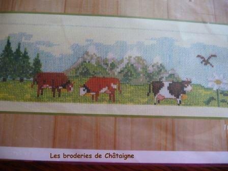 montagne et vaches
