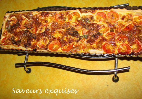 tarte tomate mascarpone