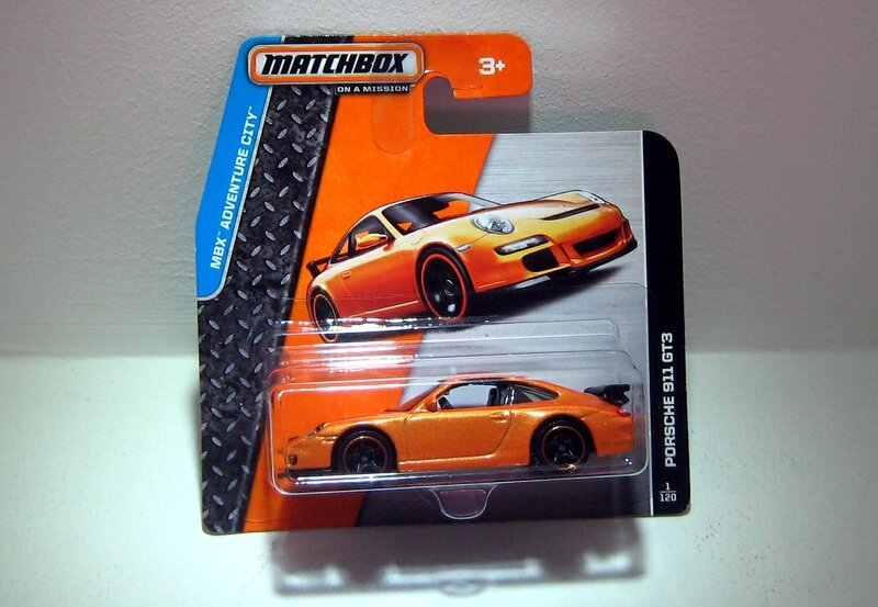 Porsche 911 GT3 (Matchbox)