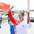 Relais de la flamme olympique au lac de Qinghai2