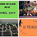 Accueil de classe - moyenne et grande section - avril 2019