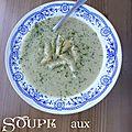 La soupe aux artichauts de mamie soupe