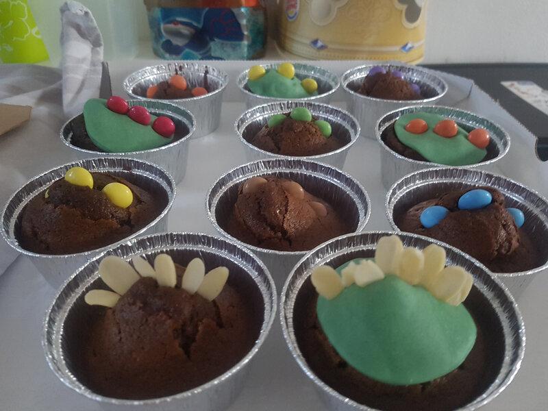 dino dragon muffins 21