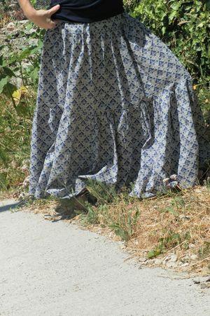 jupe longue flo