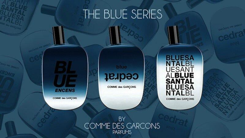 comme des garcons the blue series