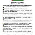 Semaine palestine à mulhouse du 17 au 22 novembre