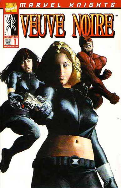 marvel knights veuve noire 01 mise au point