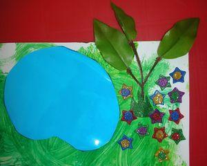 printemps-ferme-animaux-collage-tableau-peinture-fabriquer-arbres-enfants-enfant-activité-manuelle (19)
