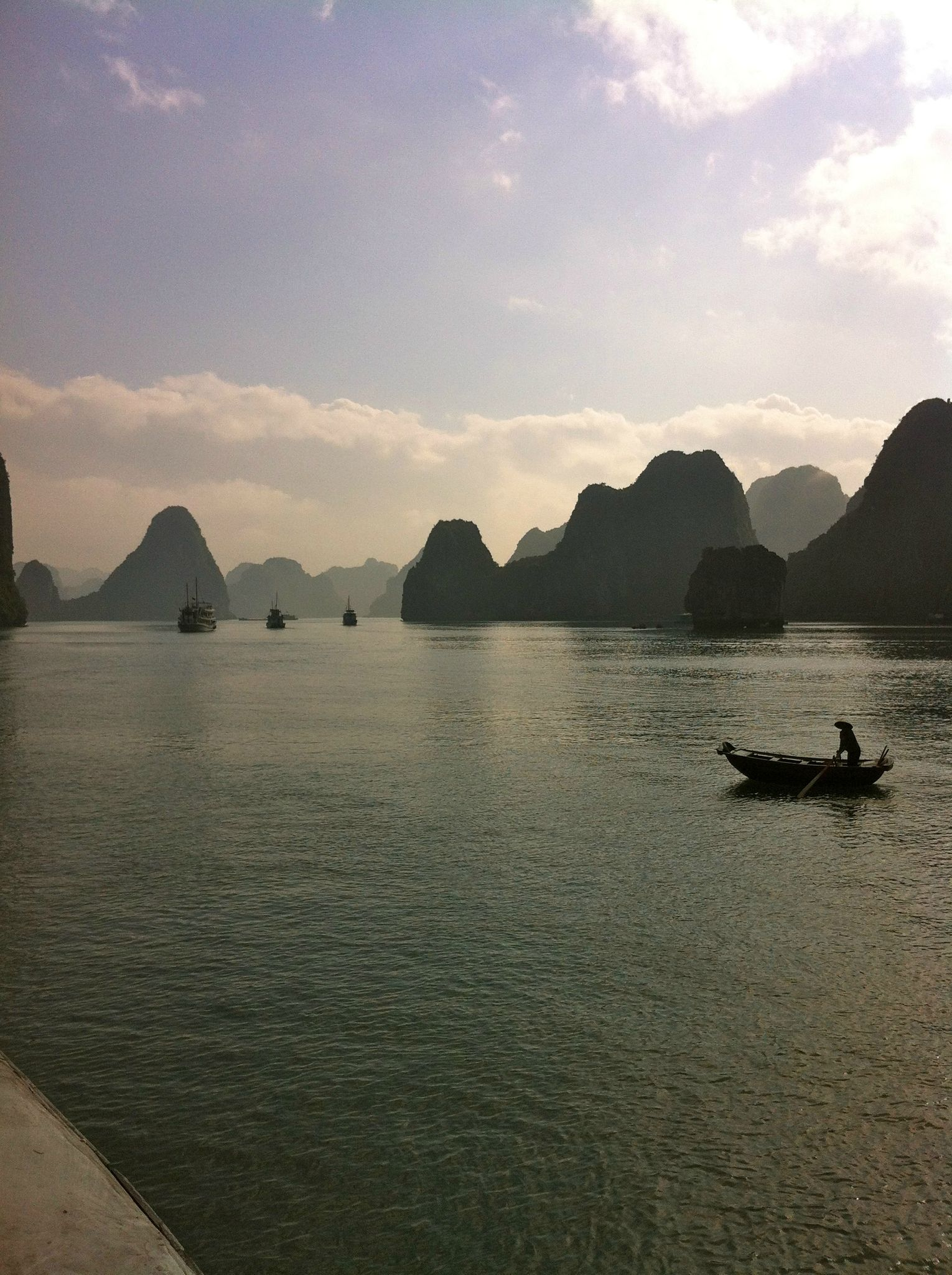 Baie d'Ha Long, paisible