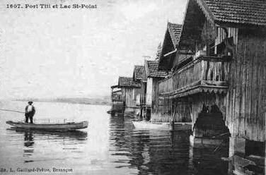 Port Titi - pêcheur - CP ancienne