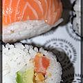 P'tits makis et sushis pour mon 12ème bloganniversaire
