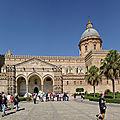 Cathedrale de palerme - sicile - italie