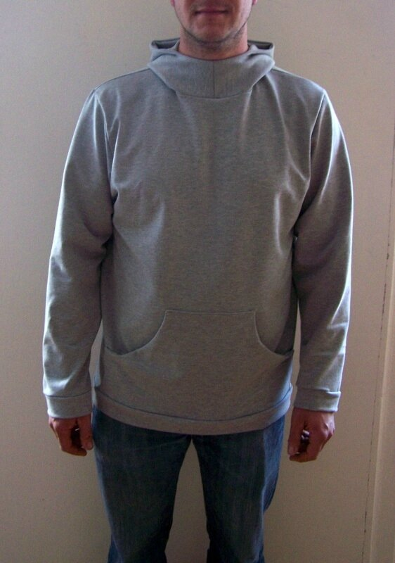 Sweat capuche gris (3)