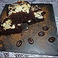 Brownies chocolat-cranberries
